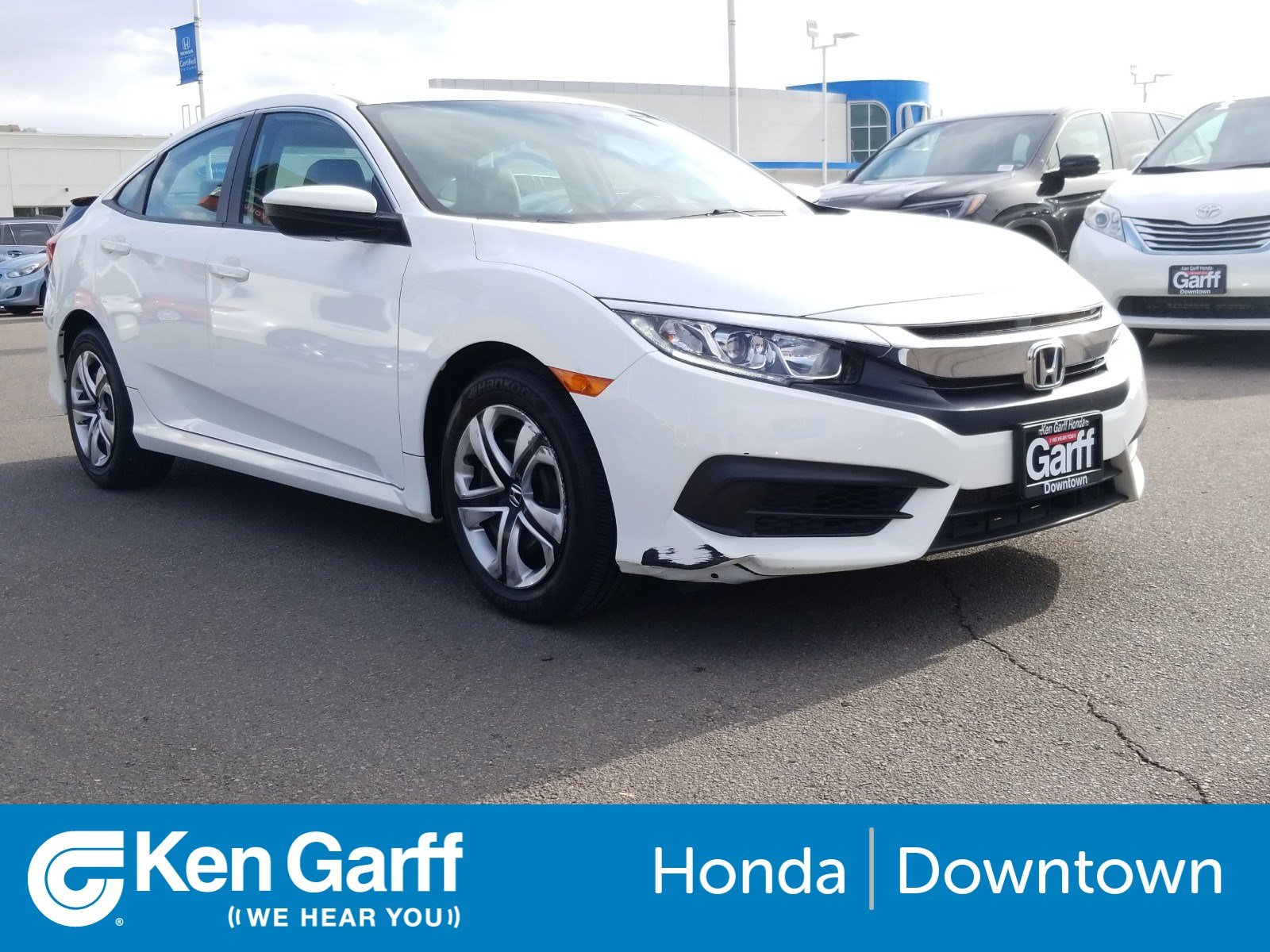 Honda Certified Pre Owned >> Certified Pre Owned 2017 Honda Civic Sedan Lx 4dr Car In Salt Lake