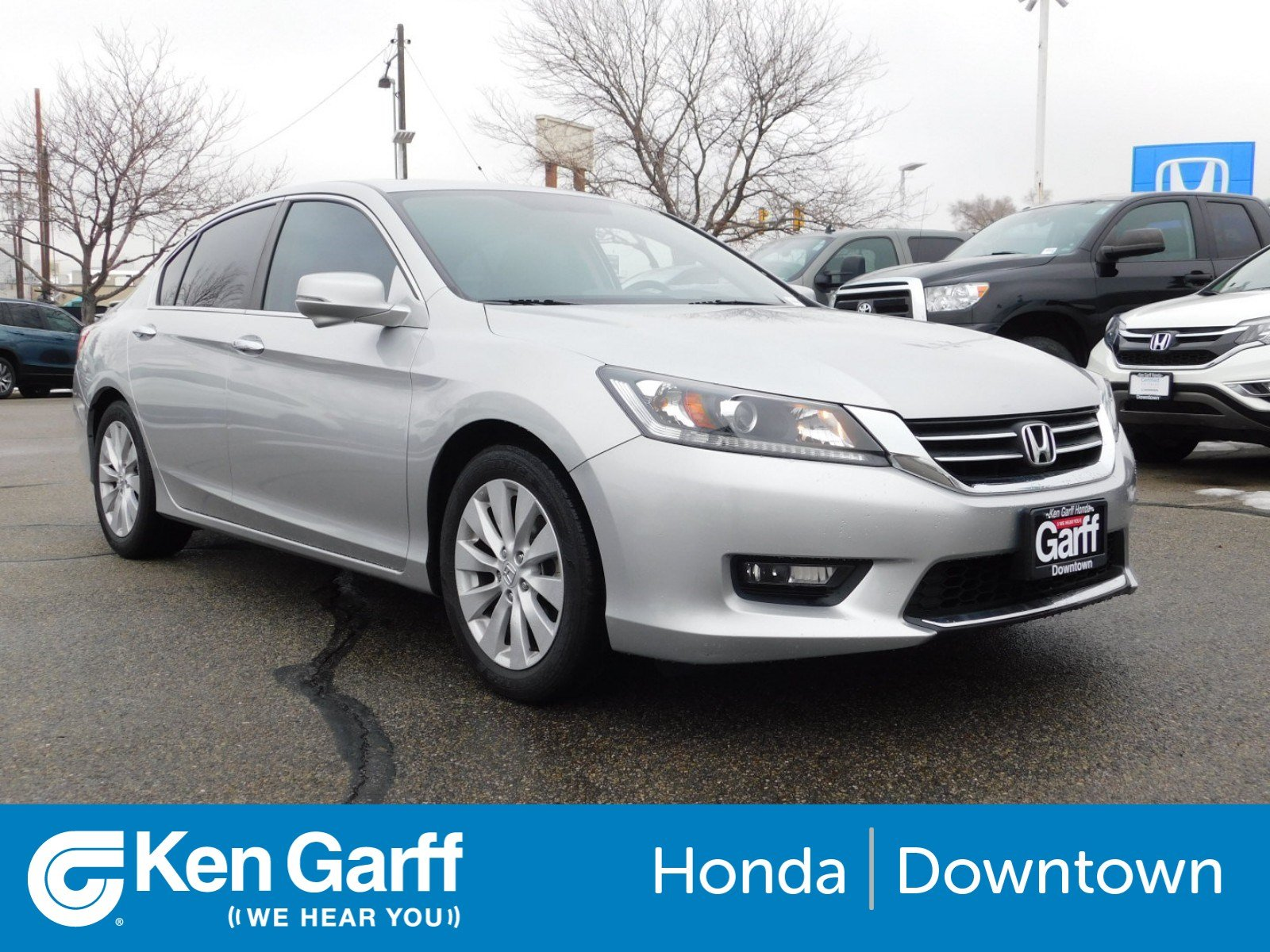 Pre-Owned 2015 Honda Accord Sedan EX