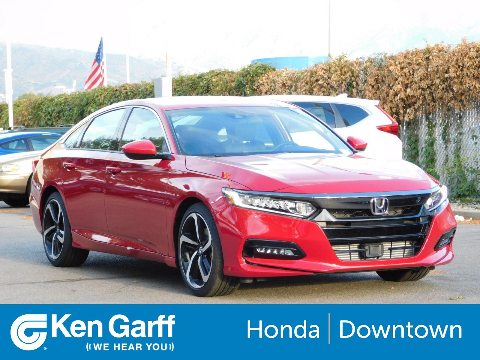 New 2018 Honda Accord Sedan Sport 15t 4dr Car In Salt Lake City 1990 Engine Performance Problem 4