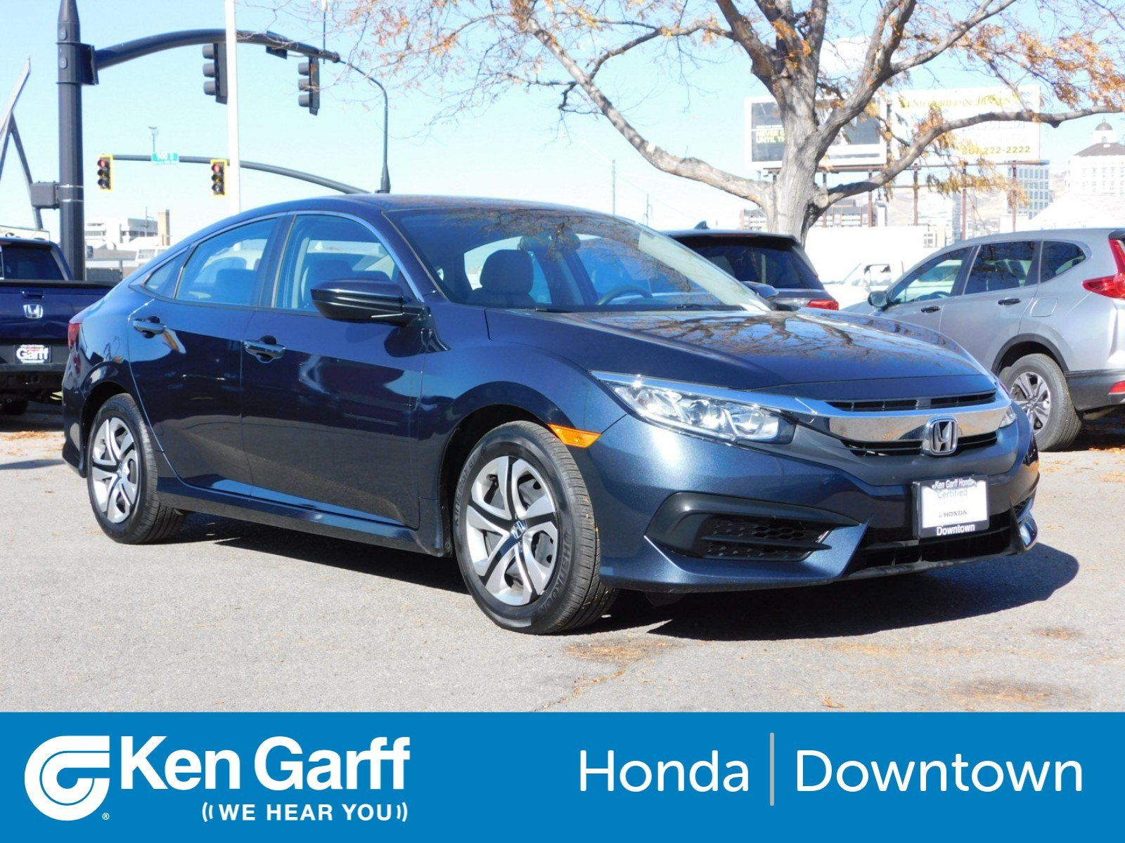 Certified Pre Owned 2018 Honda Civic Sedan LX 4dr Car in Salt Lake