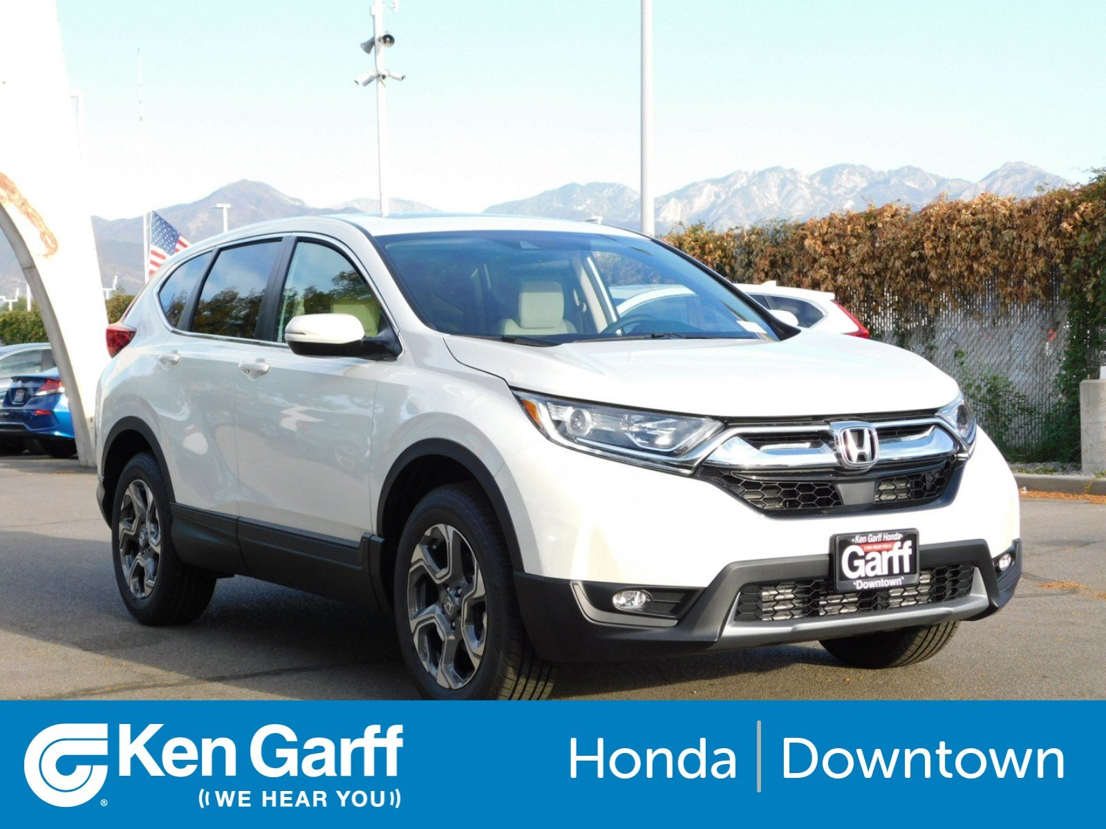 ... All Wheel Drive Sport Utility. New 2018 Honda CR V EX