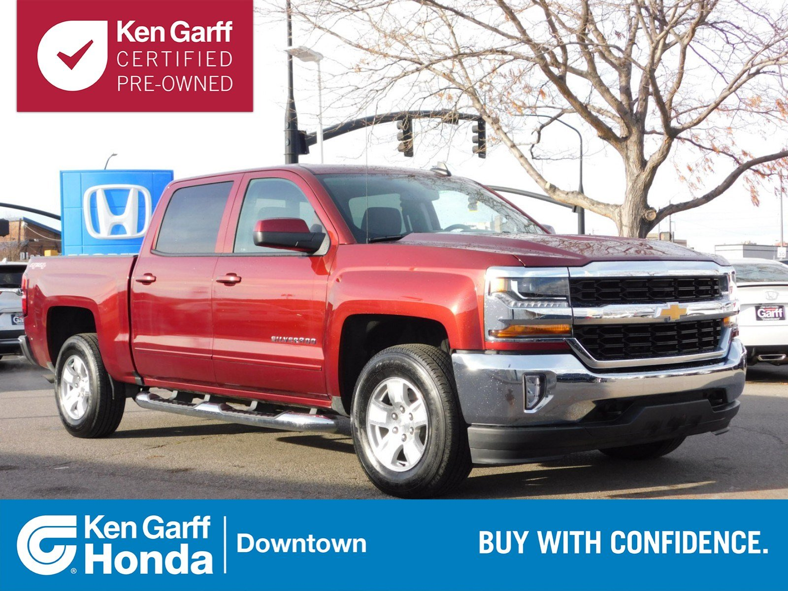 Pre Owned 2017 Chevrolet Silverado 1500 Lt Crew Cab Pickup In Salt