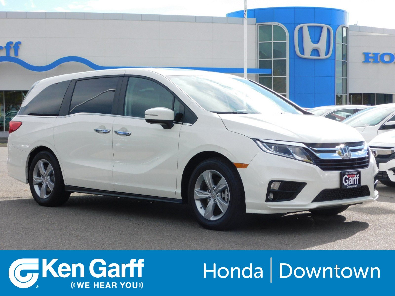 Certified Pre Owned 2018 Honda Odyssey EX L