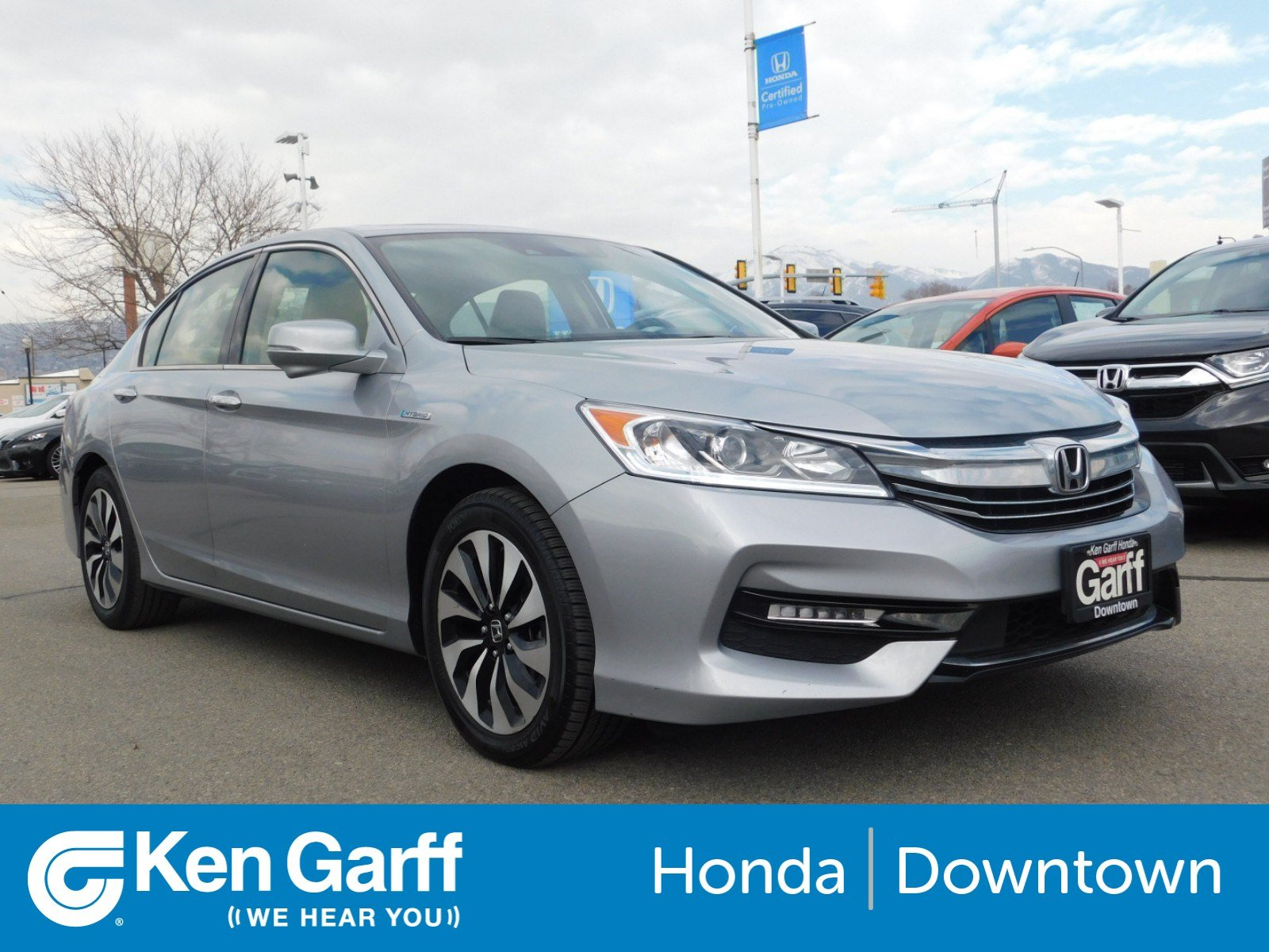 Certified Pre Owned 2017 Honda Accord Hybrid Ex L