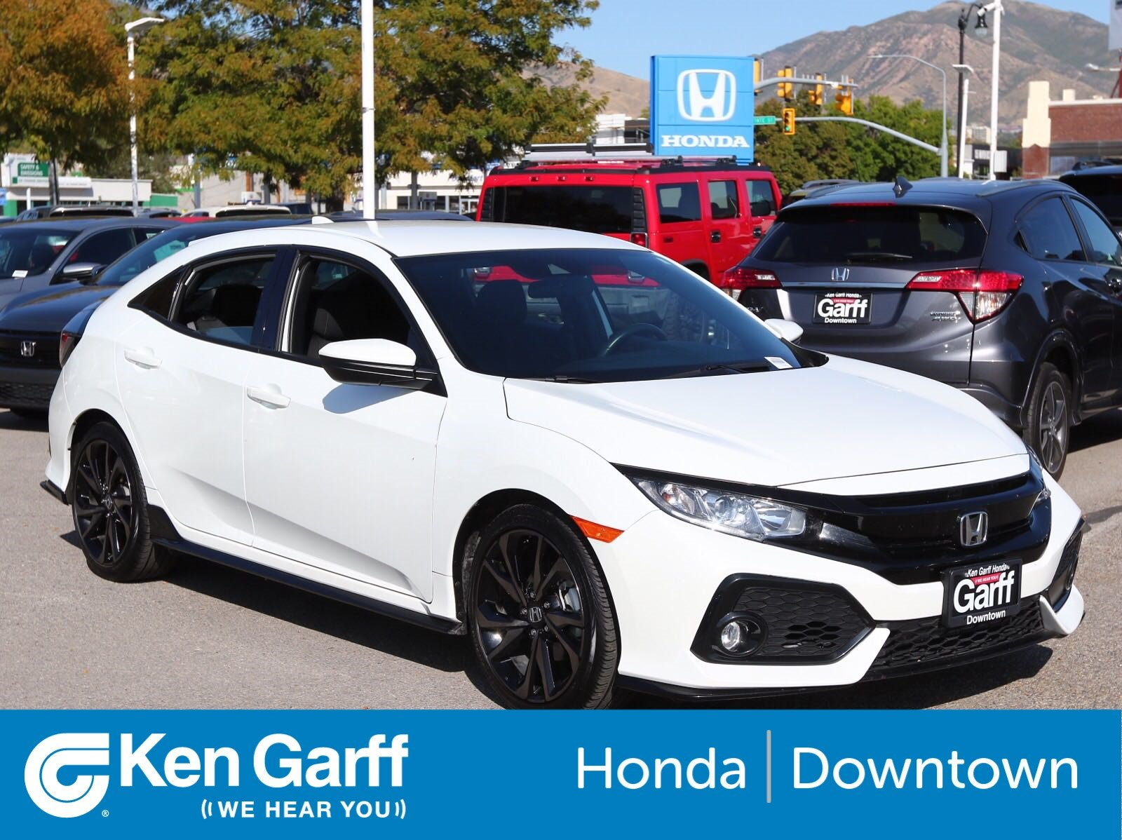 Certified Pre Owned Honda >> Honda Certified 2019 Honda Civic Hatchback Sport Fwd