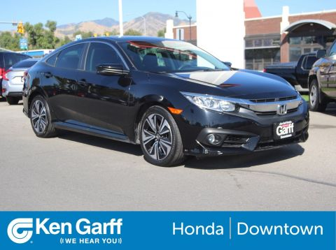 Pre-Owned 2016 Honda Civic Sedan EX-T