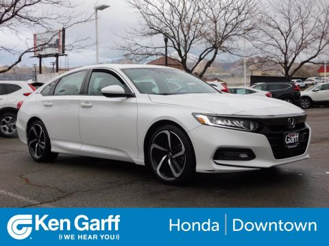 Certified Pre-Owned 2018 Honda Accord Sedan Sport 2.0T