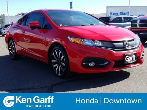 Pre-Owned 2015 Honda Civic Coupe EX-L