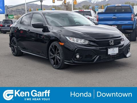 Certified Pre-Owned 2018 Honda Civic Hatchback Sport
